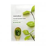 [Innisfree]真萃鮮潤面膜1片-綠茶(補分保濕)20ml(貼片式)