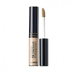 [The Saem]Cover Perfection Tip Concealer 02.Rich Beige
