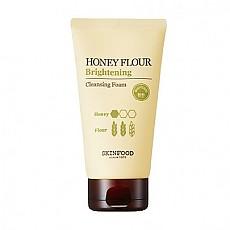 [Skinfood]蜂蜜小麥潔面泡沫150ml-增亮