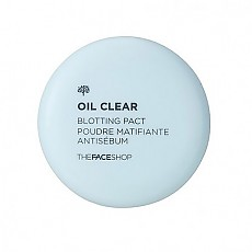 [The Face Shop] Oil Clear Blotting Pact 控油粉餅