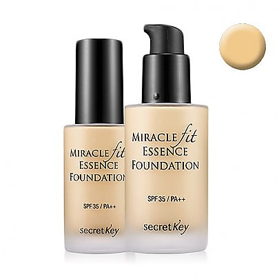 [secret key] miracle fit essence foundation #21 (light beige)