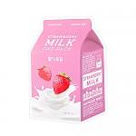 [A'PIEU]牛奶面膜#草莓牛奶