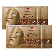 [Leaders] 金箔面膜Lifting Shield Gold Foil Mask*10