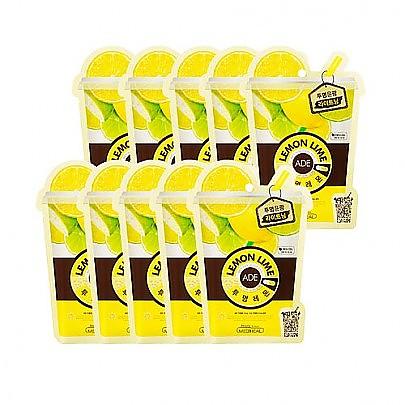 [Mediheal] Lemon Lime Ade 面膜 #美白 (10片)