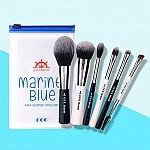 [CORINGCO] Marine Blue 化妝刷 6p 套装