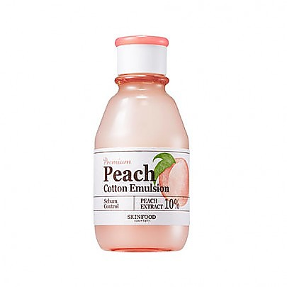 [Skinfood] Premium Peach Cotton 乳液