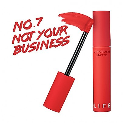 [It′s Skin]霧面唇釉口紅 Life Color Lip Crush Matte #07 (Not Your Business)