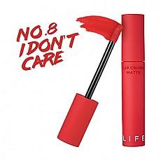 [It′s Skin]霧面唇釉口紅 Life Color Lip Crush Matte #08 (I Don't Care)