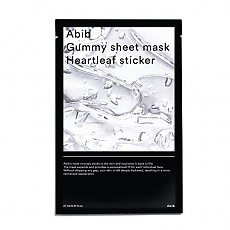 [Abib] Gummy Sheet Mask Heartleaf Sticker 1ea