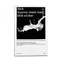 [Abib] Gummy Sheet Mask Milk Sticker 1ea