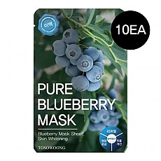 [Tosowoong] Pure Blueberry Mask 10pcs