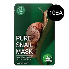[Tosowoong] Pure Snail Mask 10pcs