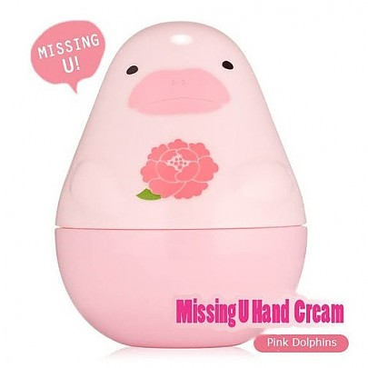 [Etude House]Missing U粉紅海豚護手霜 30ml
