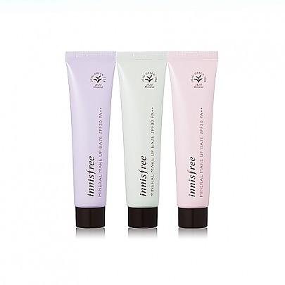 [Innisfree] 礦物營養妝前有空乳2號Green(SPF30/PA++)