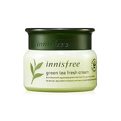 [Innisfree] 綠茶精萃清潤面霜 50ml