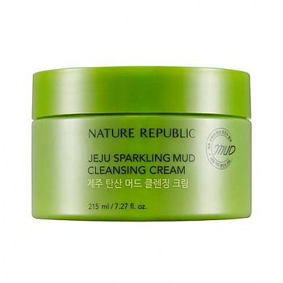 [Nature Republic]濟州Sparkling Mud卸妝霜215ml