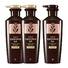 [吕Ryo] 参宝顶级防脱黑洗发水护发素套装 400ml*2+400ml*1
