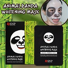 [SNP]動物熊貓美白提亮面膜10片一盒