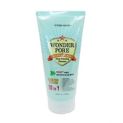 [Etude house] Wonder Pore Deep Foaming Cleanser 170ml (10 in 1 Ultra Pore Solution)