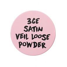 [3CE]粉色系絲綢定妝粉