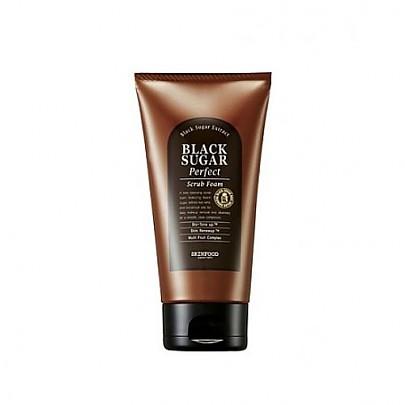 [Skinfood思]黑糖去角質保濕洗臉奶180g