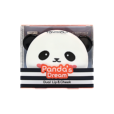 [Tonymoly] Panda's Dream Dual Lip And Cheek #01 Bubble Red