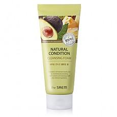 [The saem] Natural Condition Cleansing Scrub Foam #Nourishing 150ml