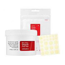 [COSRX] Acne Pimple Master 24 patches + One Step Original Clear Pad