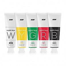 [B&Soap]五色水彩塗鴉面膜