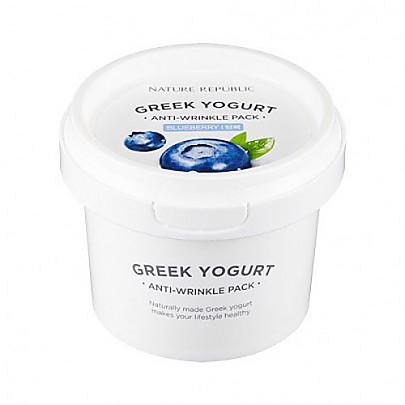 [Nature Republic]希臘酸奶面膜 #藍莓