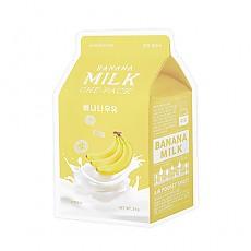 [A'PIEU]牛奶面膜#香蕉牛奶
