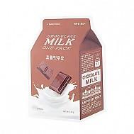 [A'PIEU]牛奶面膜#巧克力牛奶