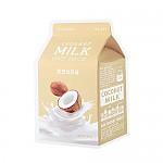 [A'PIEU]牛奶面膜#椰子牛奶