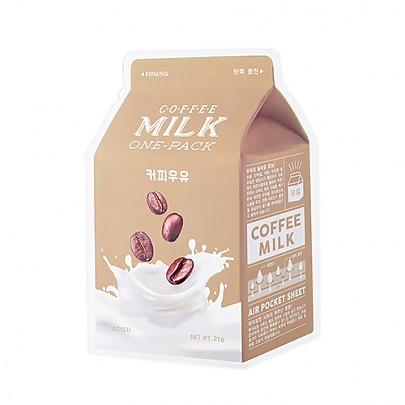 [A'PIEU]牛奶面膜#咖啡牛奶