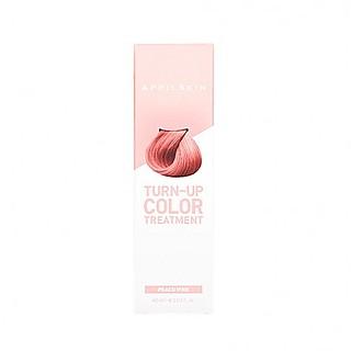 [APRIL SKIN] 速效亮彩着色护发素 Peach Pink
