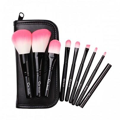 [CORINGCO] Black in Pink 9P Set