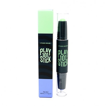 [Etude House] Play 101 Stick Color Contour Duo #02 (Mint & Blue)