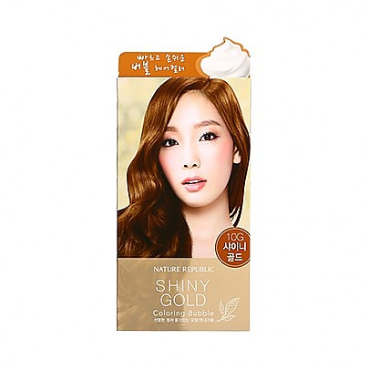 [Nature Republic] 自然染髮膏 #Shiny Gold