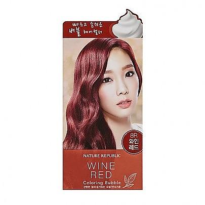 [Nature Republic] 自然染髮膏 #Wine Red