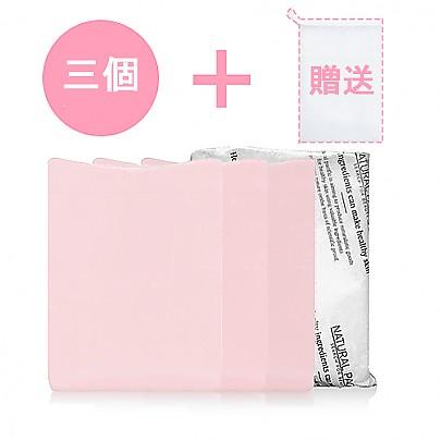 [Natural Pacific] 粉紅平靜香皂*3+贈送泡沫網
