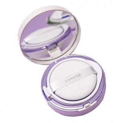 [Laneige] 雪紗絲柔飾底隔離氣墊粉霜 (Light Purple) SPF22 PA++
