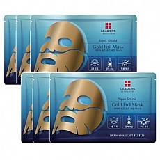 [Leaders] Aqua Shield Gold Foil Mask 10EA