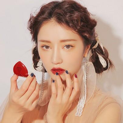 [3CE]愛心口紅 心形潤唇膏 (Brick Red)
