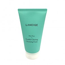 [Laneige] Mini Pore Double Clearing Cleansing Foam 150ml