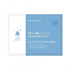 [Nature Republic] Real Comforting Mask Sheet (Hyaluronic Acid)