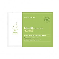 [Nature Republic] Real Comforting Mask Sheet (Tea Tree)