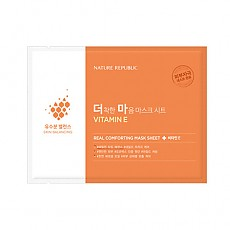 [Nature Republic] Real Comforting Mask Sheet (Vitamin E)