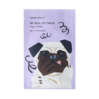 [Innisfree] My Real Pet Mask Pug #Firming