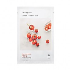 [Innisfree] My Real Squeeze Mask (Tomato)