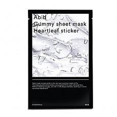 [Abib] Gummy Sheet Mask Heartleaf Sticker 1ea